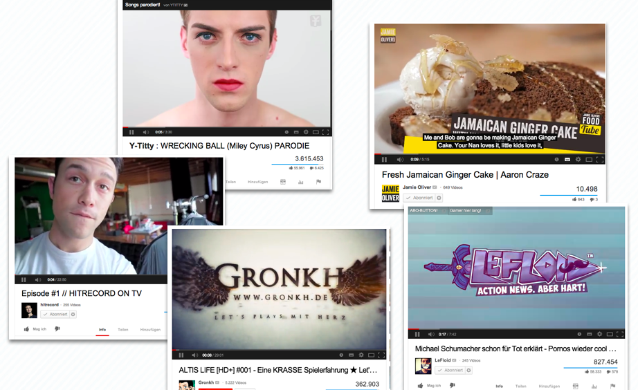 YouTube ist Fernsehersatz